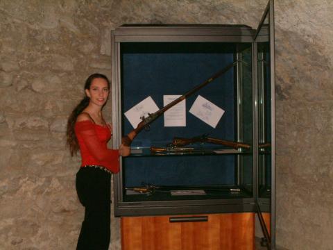 Allestimento Museo delle Armi nel Castello di Santa Severina
