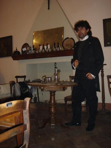 Film Contessa di Castiglione - Castello di Cisterna 2005